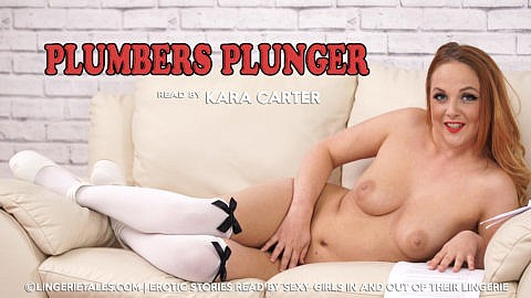 kara-carter-plumbers-plunger-video